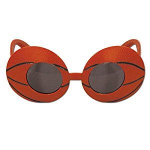 Basketball Fanci-Frames Party Accessory (1 count) (1/Pkg)
