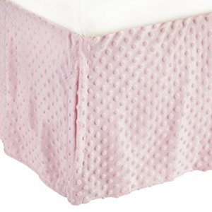 American Baby Company 170SS-PK Heavenly Soft Crib Bed Skirt (Pink)