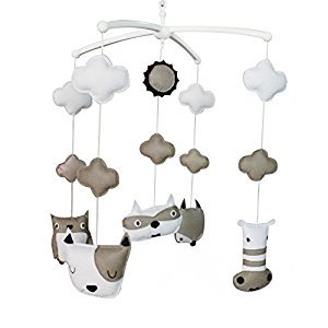 [Lovely Animals]Baby Crib Mobile Bed Bell, Handmade Gift, Colourful Baby Toy