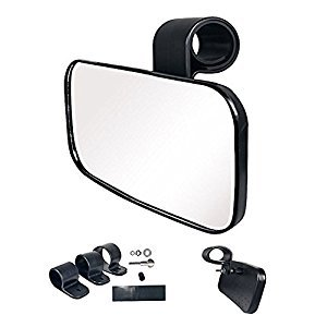 Rear View Center High Impact Tempered Glass Mirror for 1.37