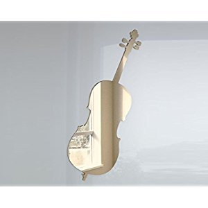 Violin Mirror - Available in various sizes, including sets for crafting kits - 20cm x 6.5cm