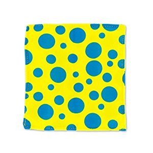 Baby Paper - Yellow & Blue Dot BP108 Motor Activity Toys