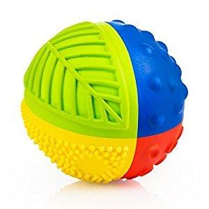 CaaOcho Baby Sensory Ball, Rainbow, 3