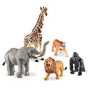 Learning Resources Jumbo Jungle Animals