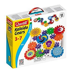 Quercetti Georello Kaleido Gears, 55 Piece Game