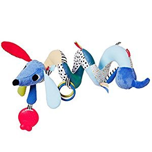 Skip Hop 305250 Vibrant Village Musical Spiral Toy-Dog, Multi