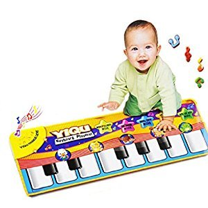 New Touch Play Keyboard Musical Music Singing Gym Carpet Mat Kids Gift by XILALU