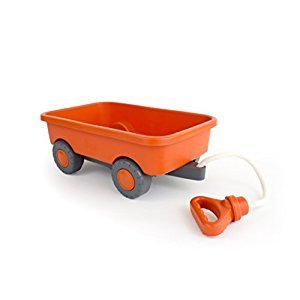 Green Toys WAGO-1227 Wagon Outdoor Toy, Orange