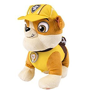 Paw Patrol, Real Talking Rubble Plush