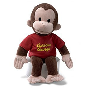 Gund 16-Inch Curious George Plush Figure