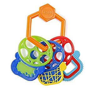 Kids II O Ball Grip and Teethe Keys