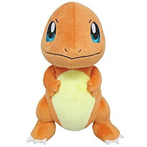 Sanei Pokemon All Star Series-PP18-Charmander 6.5-Inch Stuffed Plush