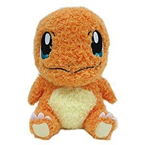 Sekiguchi Pokemon MokoMoko Charmander Fluffy 7-Inch Stuffed Plush
