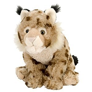Wild Republic Cuddlekins Lynx Plush, 12-Inch