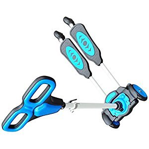 Active Play 5524676 Toys and Games Little Scoot Scooter Ride on, Blue, one Size