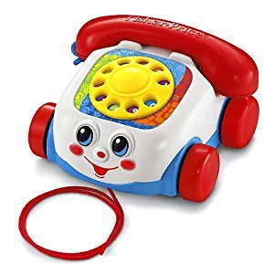 Fisher-Price Toddlers Chatter Telephone Toy