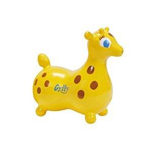 Ledraplastic Gyffy The Giraffe Hop and Ride, Yellow