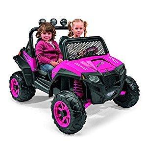 Peg Perego IGOD0073 Polaris RZR 900 Ride On, Pink