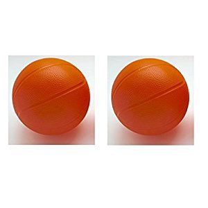 Toddler/Kids Replacement Basketball - 6 Inch Diameter (Pack of 2)