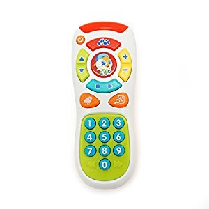 KONIG KIDS Click & Learn Remote Educational Toy for Baby 6 Months +
