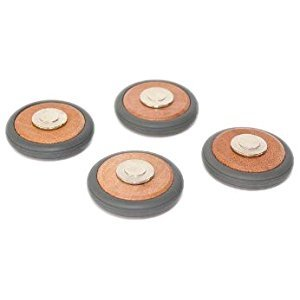 4 Pack Tegu Magnetic Wooden Wheels