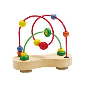 Hape Double Bubble Wooden Toddler Bead Maze