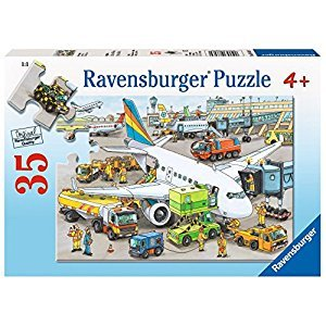 Ravensburger Busy Airport - 35 pc Puzzle