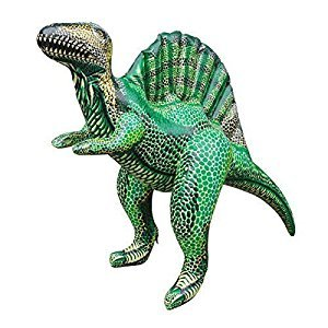 Jet Creations 41L x 16W x 30H Inflatable Spinosaurus,Large Inflatable Dinosaurs Animals Toys,indoor and Outdoor Play by Jet Creations