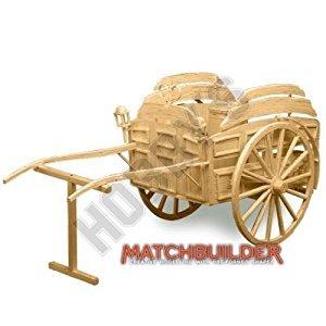 Milk Float Horse Drawn Victorian Transport Matchstick Model Kit Hobby's Matchbuilder by Matchbuilder