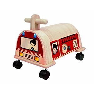 Plan Toys Fire Engine Ride On