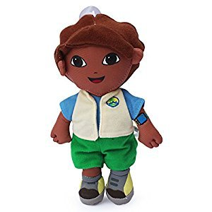 Dora the Explorer Go Diego Soft Plush Stuffed Animals Doll Kids Toys 18 cm