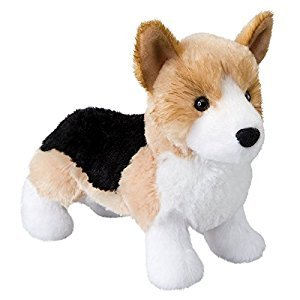 Plush Shorty Tri-color Corgi 8