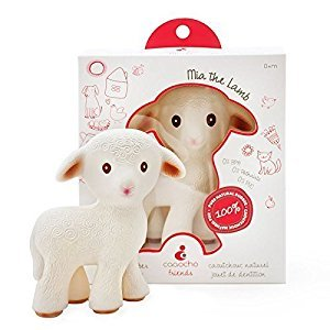 CaaOcho Friends Teething Toy, Mia The Lamb