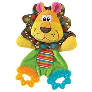 Playgro Roary Teething Blankie for Baby Infant Toddler Children