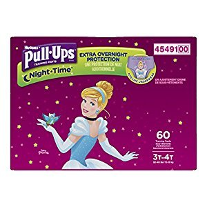 PULL-UPS NIGHT-TIME Training Pants Girl (60 Count)