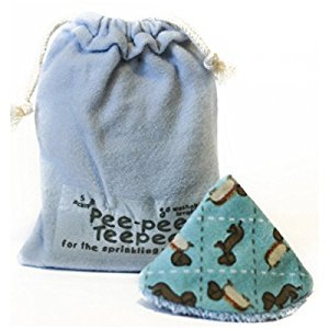 Pee-pee Teepee Wiener Dog Blue - Laundry Bag