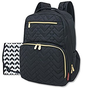 Fisher Price Morgan Quilted Backpack, Black