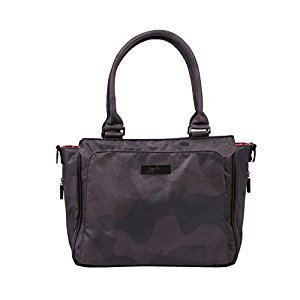 Ju-Ju-Be Onyx Collection Be Classy Structured Handbag Diaper Bag, Black Ops