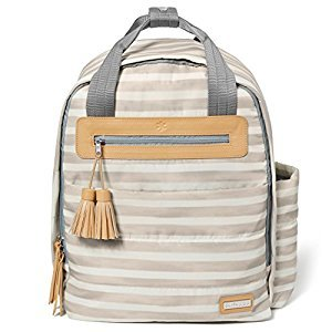 Skip Hop Riverside Ultra Light Backpack - Oyster Stripe