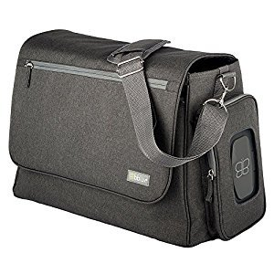 bblüv - Ültra - Complete Multi-Function Diaper Bag (Charcoal)