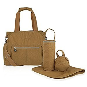Suvelle RFID Travel Purse, Tote, Handbags, Baby Diaper Bags, Stroller Organizer, 4-Pcs Set