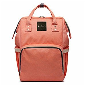 Vanillashake Diaper Backpack (Lily Orange)