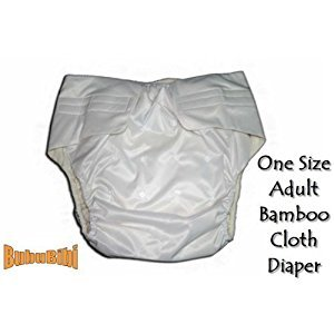 Adjustable Reusable/Washable BAMBOO ADULT Cloth Diaper/Nappy+2 Insert S/M/L Baby