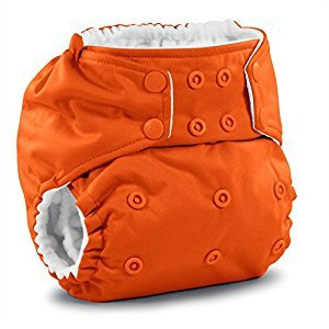 Rumparooz One Size Cloth Pocket Diaper Snap, Poppy