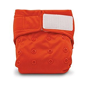 Bumkins Snap in One Cloth Diaper, Red