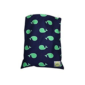 Itzy Ritzy WBM8056 Zippered Wet Bag (Whale Watching Blue)