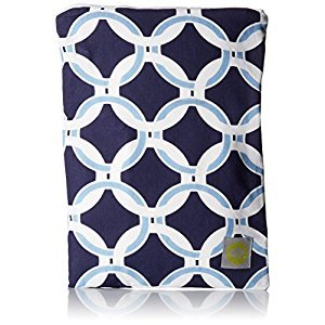 Itzy Ritzy WBM8058 Zippered Wet Bag (Social Circle Blue)