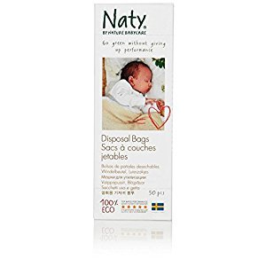 Nature Babycare Biodegradable Diaper Disposal Bags 750 Count
