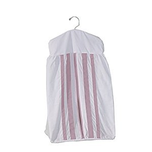 BabyDoll 1350ds-pink Bedding Soho Crib Diaper Stacker, Pink