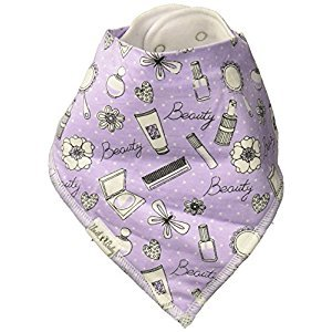 Unik Occasions Baby Bandana Drool Bib 2 Made from 100% Organic Cotton for Girls